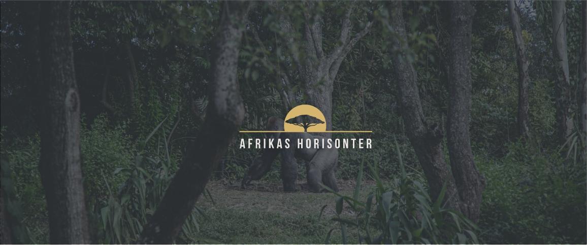 Afrikas horisonter logo og identitet til hjemmesiden